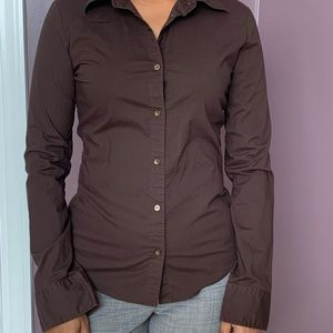Buttoned down fitted shirt
